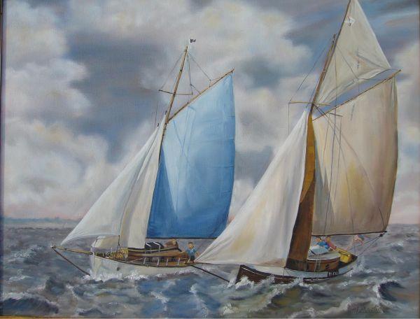 Les 2 voiliers