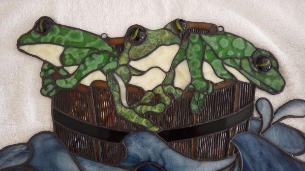 Les Trois grenouilles
